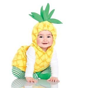 NWOT Little Pineapple Halloween Costume